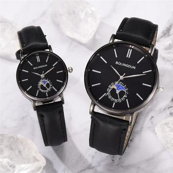 2020 Minimalist Fine Lovers Wristwatches High Quality Fashion Quartz Watches Men Women Leather Clock Simple Watch Reloj Mujer fashion casual watches men women couple watch leather strap quartz wristwatches fashion lovers watches reloj mujer reloj hombre