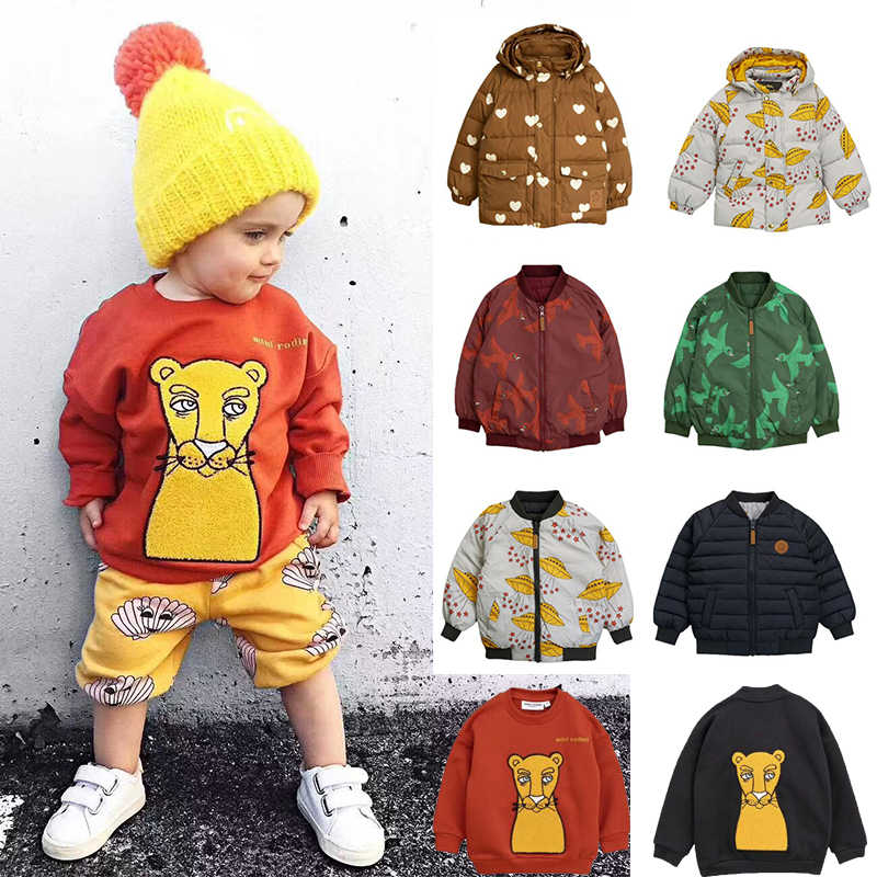 Kids Clothes MR 2019 New Autumn Kids Wear On Both Sides Coats Christmas Kids Coats Baby Clothes Baby Girl Coat Boys Jackets