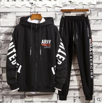2019 New  Teen autumn boy big boy suit junior high school students spring and autumn set of clothes autumn coat
