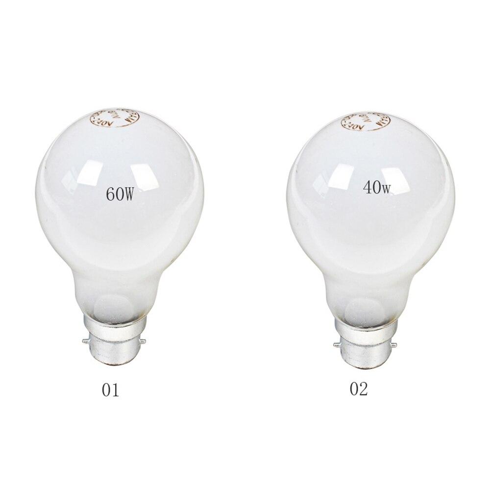 Professional B22 Tungsten Incandescent Lamp 40W 60W Industrial Lighting Corridor Light Bulbs For Living Room Bedroom Warm White