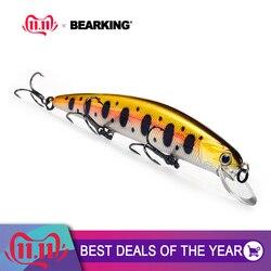 Bearking, 11 см, 17 г, для дайвинга, 1,5 м, супер вес, система длинного литья, SP minnow, новая модель, рыболовные приманки, жесткая наживка, качественные во...
