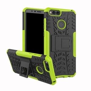 Чехол-бампер с подставкой для телефона Honor 7S 7X 7A 7C Pro, Прочный противоударный чехол для Honor 7A Pro, чехол для Honor 7C Honor 7A, чехол