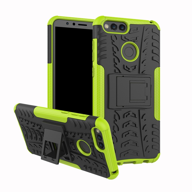 Kickstand Phone Bumper Case For Honor 7S 7X 7A 7C Pro Rugged Shockproof Cover For Honor 7A Pro Case For Honor 7C Honor 7A Case