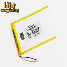 3,7 V lithium-Tablet polymer batterie 4000 mah ultra-dünne high-kapazität DIY tablet 3074114