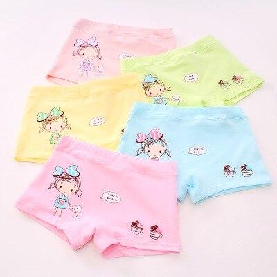 VIDMID Kids girls Panties Briefs Children Underwear Baby Girls Cotton Lovely Animal Design Panties Children Clothes 7130 01 4