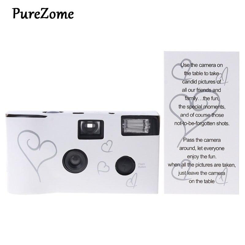 36 Photos Flash de puissance HD à usage unique une fois Film jetable caméra cadeau de fête