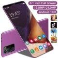 Note30 Plus 6.1 Inch Cell Phone Global Unlock 13+24MP Camera 4800mAh Dual SIM HD Full Screen 8GB 256GB Android 10.0 Smart Phone