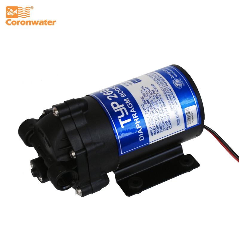 Coronwater 100gpd Water Filter RO Booster Pump For Increase Reverse Osmosis System Pressure