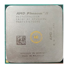 Amd phenom ii x4 965 3.4 ghz quad-core processador cpu hdz965fbk4dgm soquete am3