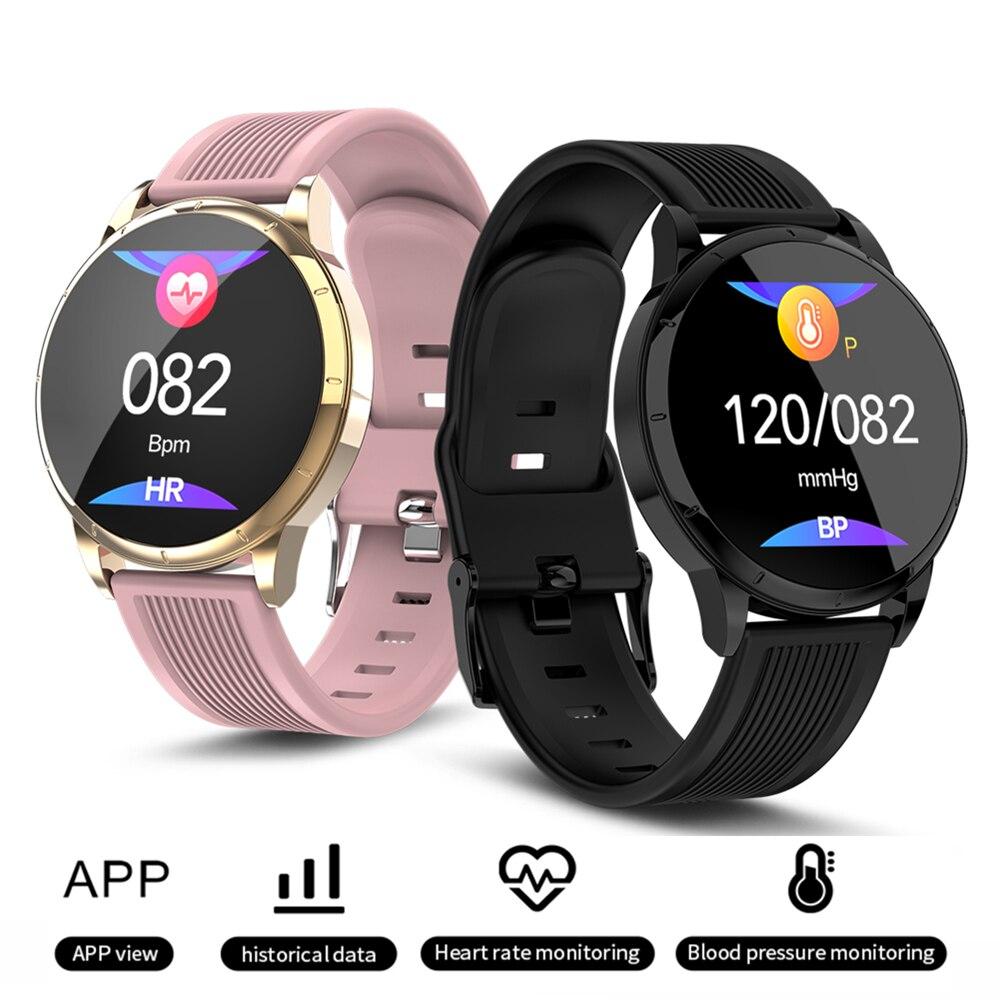 Smart Watch Women Men Fitness Bracelet Pedometer Heart Rate Sleep Activity Tracker MK07 Sports Watches PK Samsung Galaxy Watch