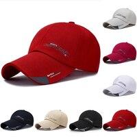 2021 ספורט כובע Mens כובע עבור דגים חיצוני אופנה קו בייסבול כובע מגן ארוך ברים צל Snapback שמש כובע עצם gorras