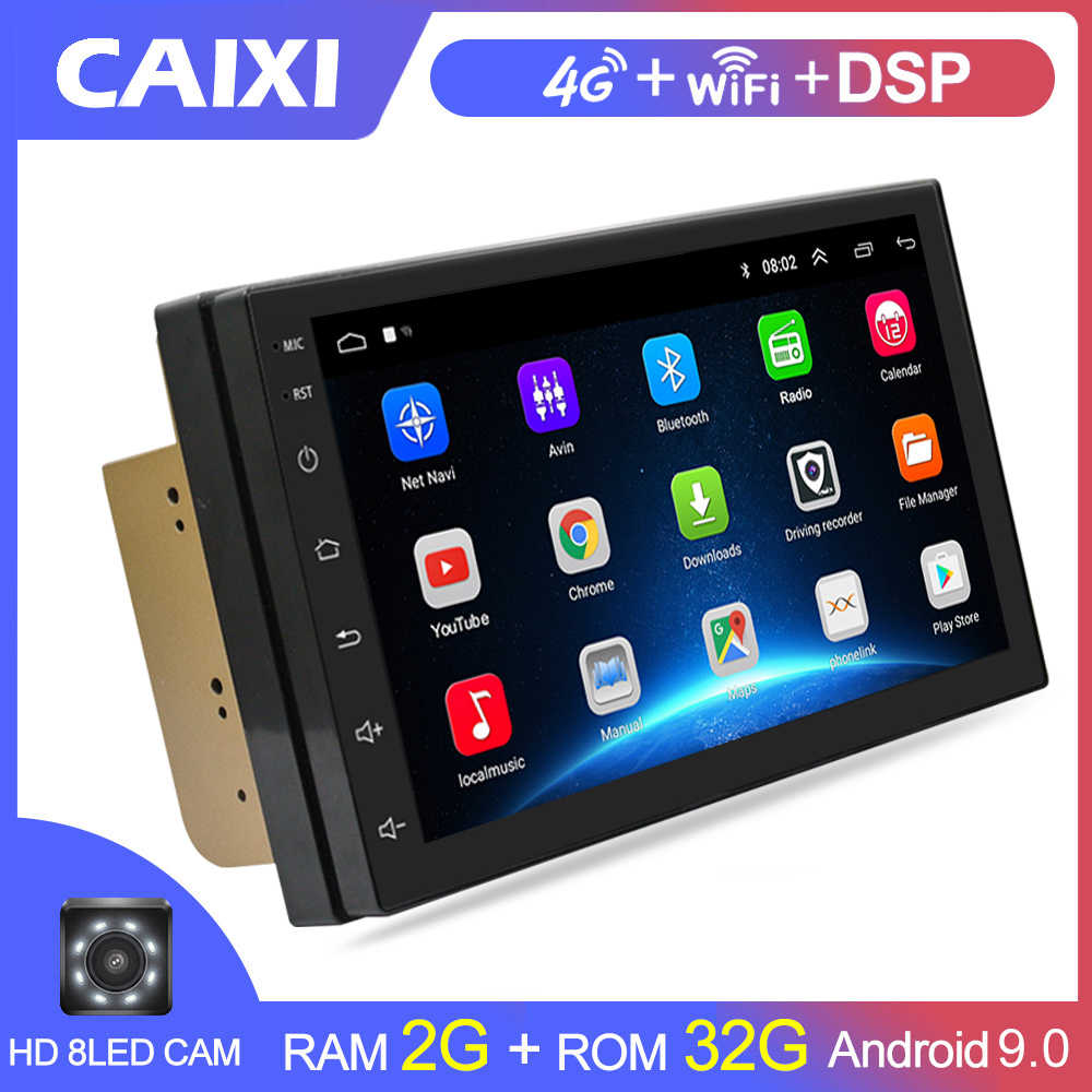 Auto Radio 2 DIN Android 9.0 GPS Navigasi Mobil Radio Mobil Stereo Multimedia Mobil Player Andiroidfor Volkswagen Nissan Kia Toyota