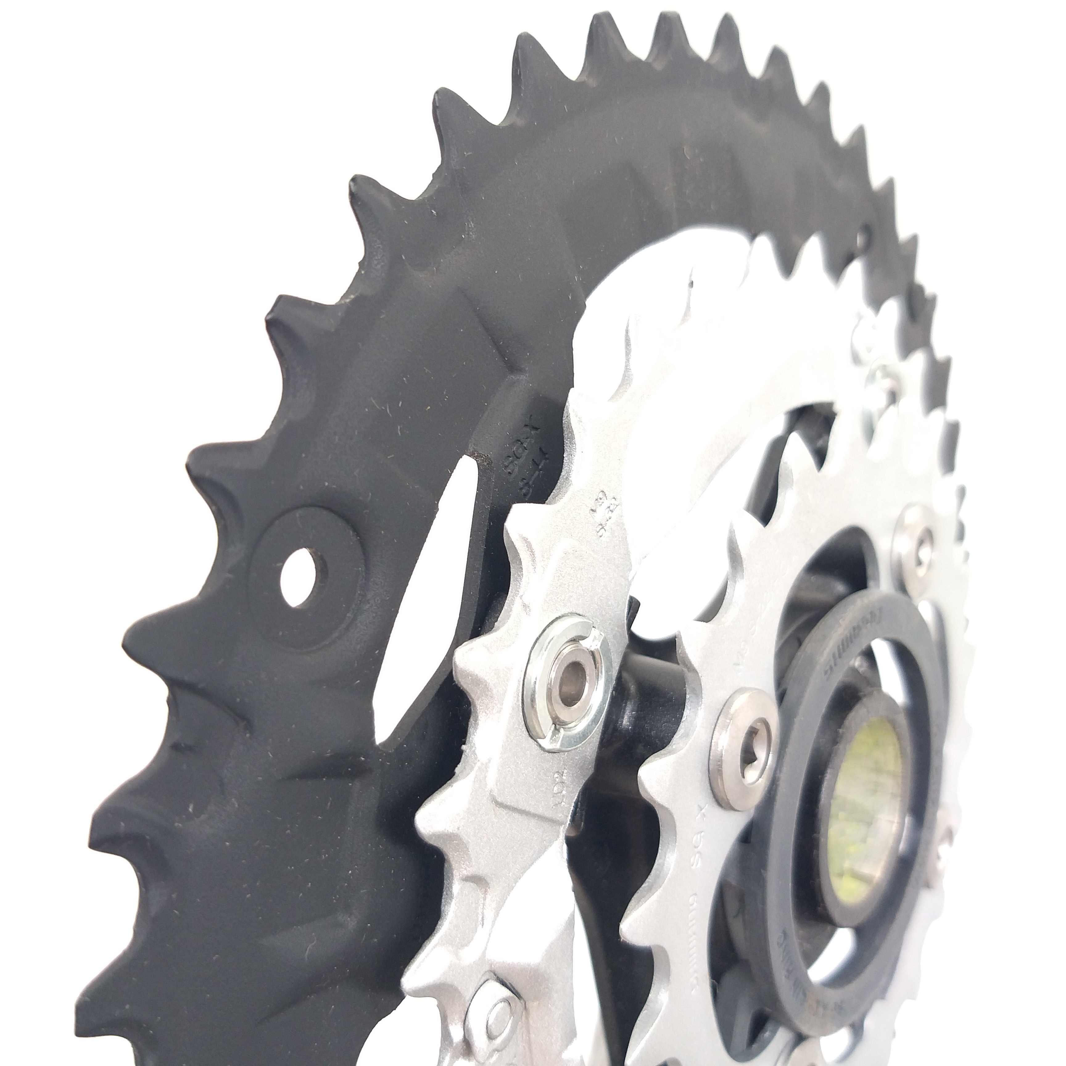 Shimano alivio fc m430 m4000 44-32-22t 22-30-40t 자전거 크랭크 셋 9 속도 44 t 40 t mtb 자전거 체인 휠 (es25 하단 브래킷 포함)