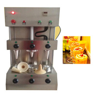 Pizza Kegel Moulding Machine Pizza Cone Maker Apparatuur Kegel Pizza Machine Pizza Conus Making Machine