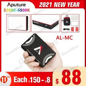 Image 1 - INSTOCK Aputure AL MC Portable LED Light with HSI/CCT/FX 3200K 6500K Photography Lighting AL MC Lighting Video mini RGB light
