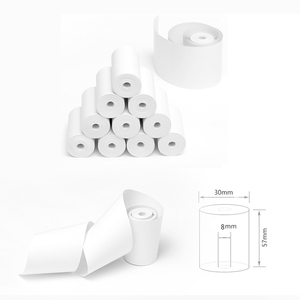 thermal paper 57 x 30 mm no core free 10 rolls mobile bluetooth cash register paper rollfor Paperang & Peripage Mini Printer