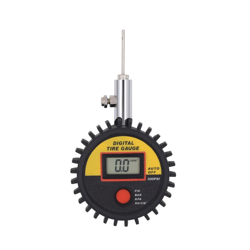 Digital Display Manual Mini Handheld Football Accurate Ball Barometer Measure Basketball Pressure Gauge Pointer Tool Volleyball
