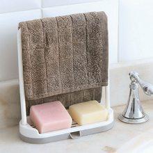 Suporte de pano para toalha de pano gancho pia esponja titular prateleira para cozinha banheiro pano drenagem organizador