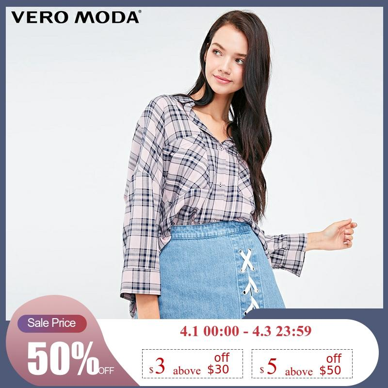 Vero Moda Women's Lace-up Denim Shorts Jeans | 318343503