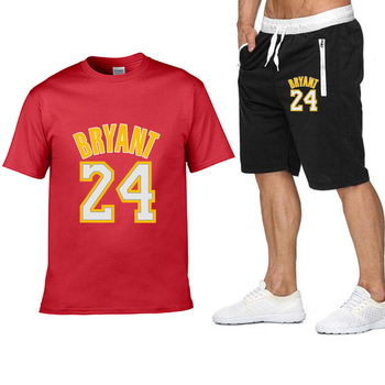 2020 new Pocket zip pants set 2 Pieces men Sets hot Basketball clothing print men set Fitness Summer Men Shorts T shirt Men set 14