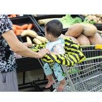 ショッピングカートカバー保護赤ちゃんのスーパーマーケットのショッピングバッグ幼児椅子カートシートカバー再利用可能なトートバッグ安全キャリッジカバー