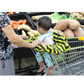 Покрывало для магазиннной тележки с защитой для младенца  сумка для покупок в супермаркете для переноски младенцев корзину сиденья многора...