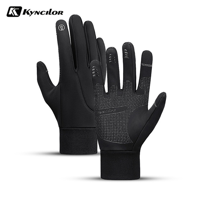 Men Women Winter Gloves Waterproof Warm Thermal Fleece Gloves Antislip Touch Screen Outdoor Sports Running Ski Snowboard Gloves