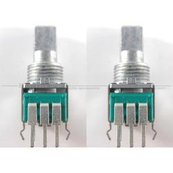 2 unids/lote DCS1091 Rotary pour potentiometre TRIM interruptor para PIONEER DJM400 DJM 400