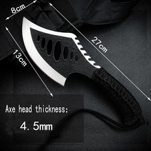 Tactical Axe Wood-Tree-Cutting Stainless-Steel Sharp Is Compact-Sharp-Tool Convenient