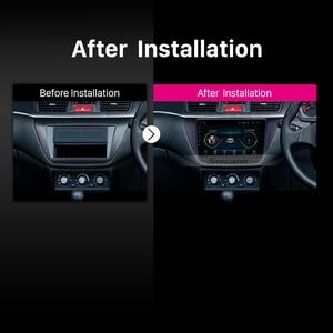 Image 5 - Seicane אנדרואיד 8.1 2Din 9 אינץ רכב Wifi GPS מולטימדיה נגן למיצובישי לנסר ix 2006 2007 2008 2009 2010 כולל מסגרת