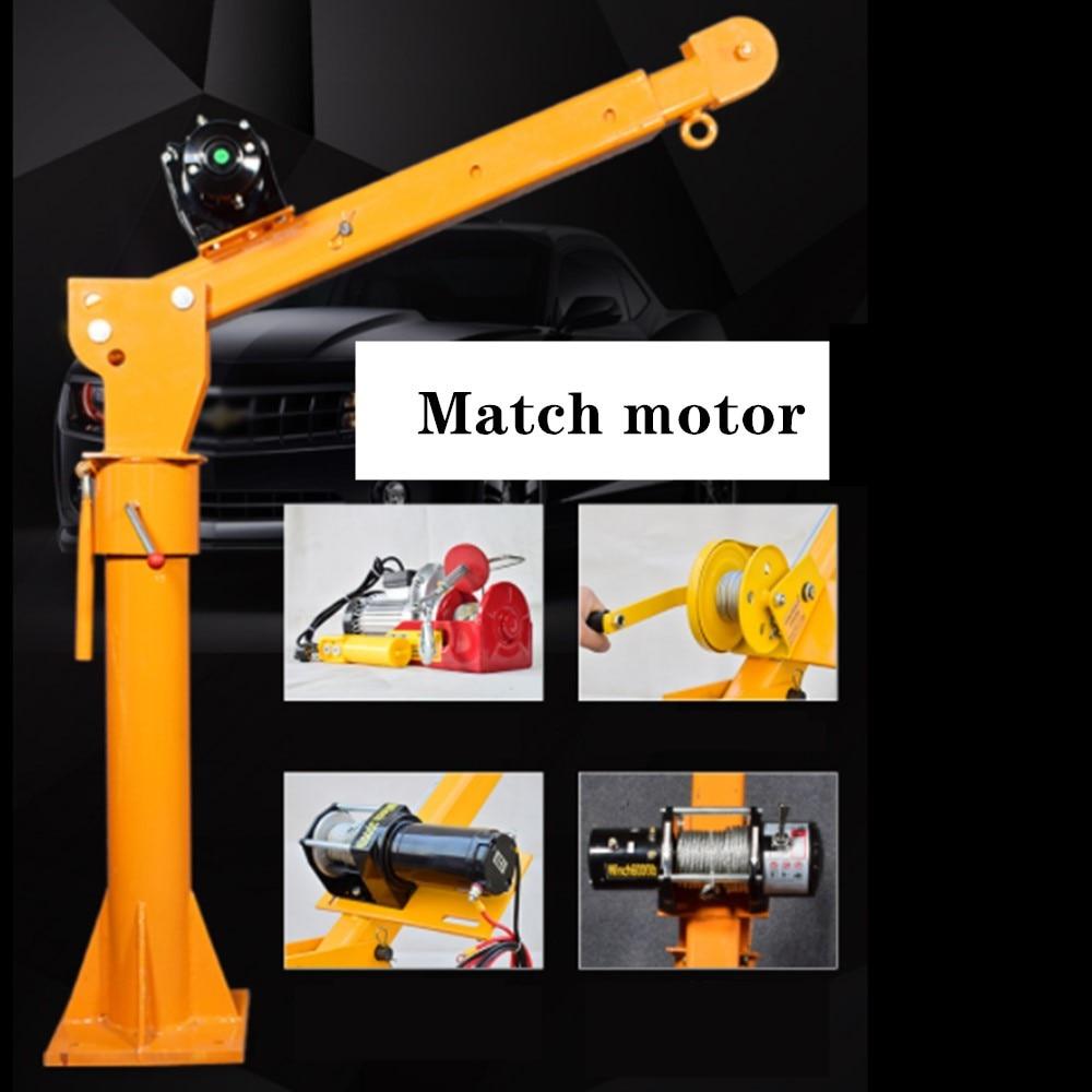 Electric Hoist 0.5 Ton 12V Electric Winch 3000 Lbs Small Truck Crane