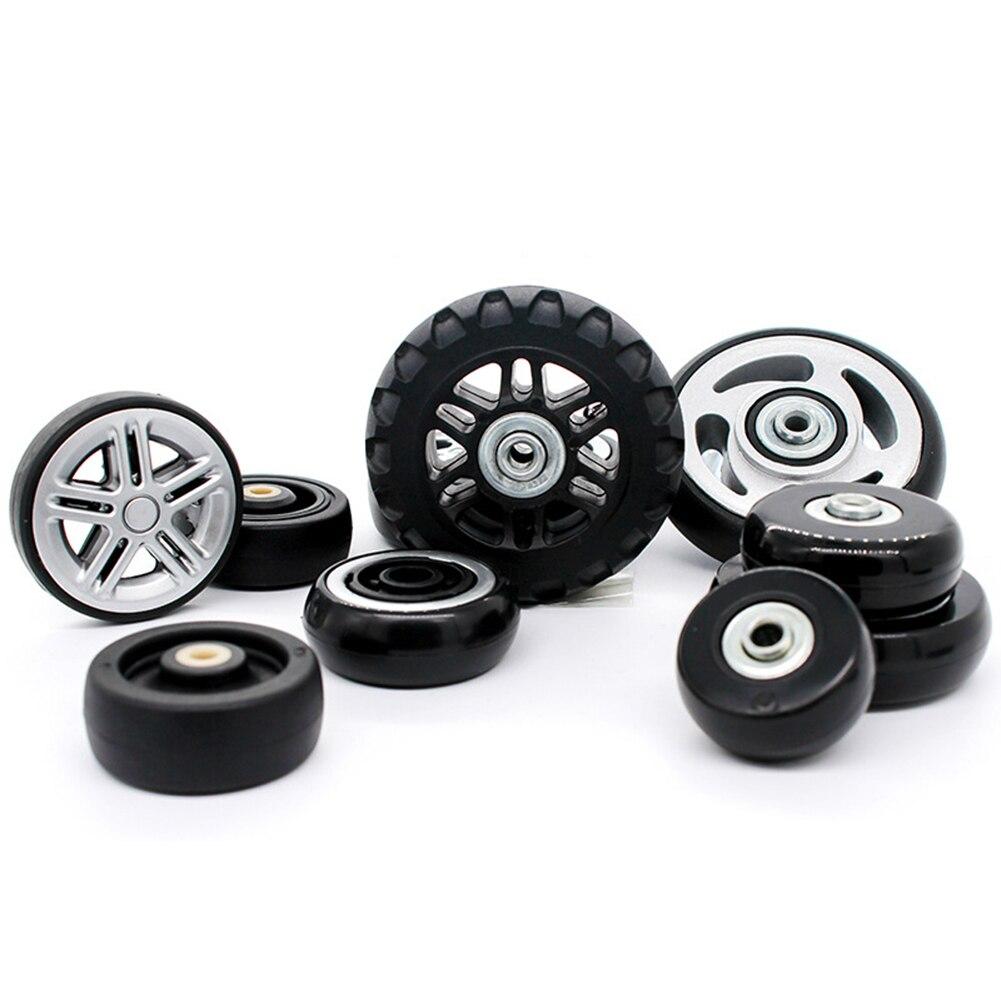 2Pcs/Set Suitcase Wheels Luggage Suitcase Replacement Wheel Axles Diameter 41-50mm Deluxe Repair Deluxe Repair Tool Casters Hot