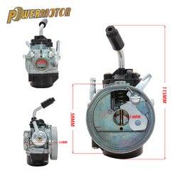 Motorcyle 14mm Carburetor 37cc Water Cooled Carb Modify For 43 47cc 49cc 2-Stroke Mini Moto Pocket bike Dirt Pit Bike ATV Quad
