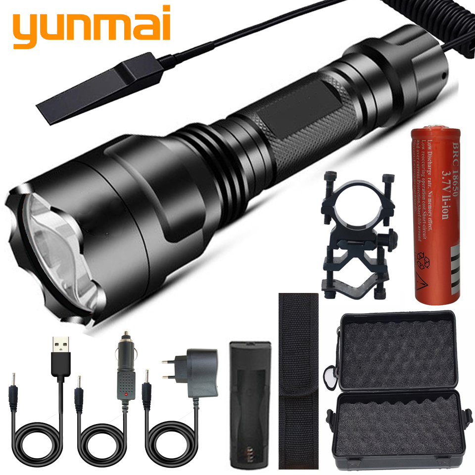 XHP50.2 LED Flashlight Super Bright Lamp 5 Lighting Modes Led Torch Tactical Light Use 18650 Recharge Battery For Riding Camping