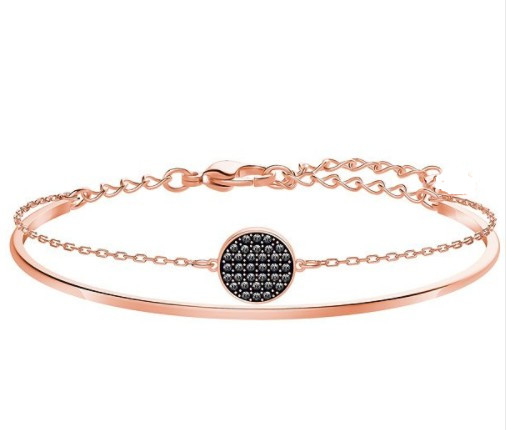 2020 Korean version of the simple cool Superior Quality Original Crystals from Swarovskis Bracelet for Women
