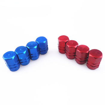 Car Tire Valve Stem caps 4pcs Bolt-in Aluminum Theftproof valve for Toyota Camry Corolla RAV4 Yaris Highlander/Land Cruiser/PRAD image