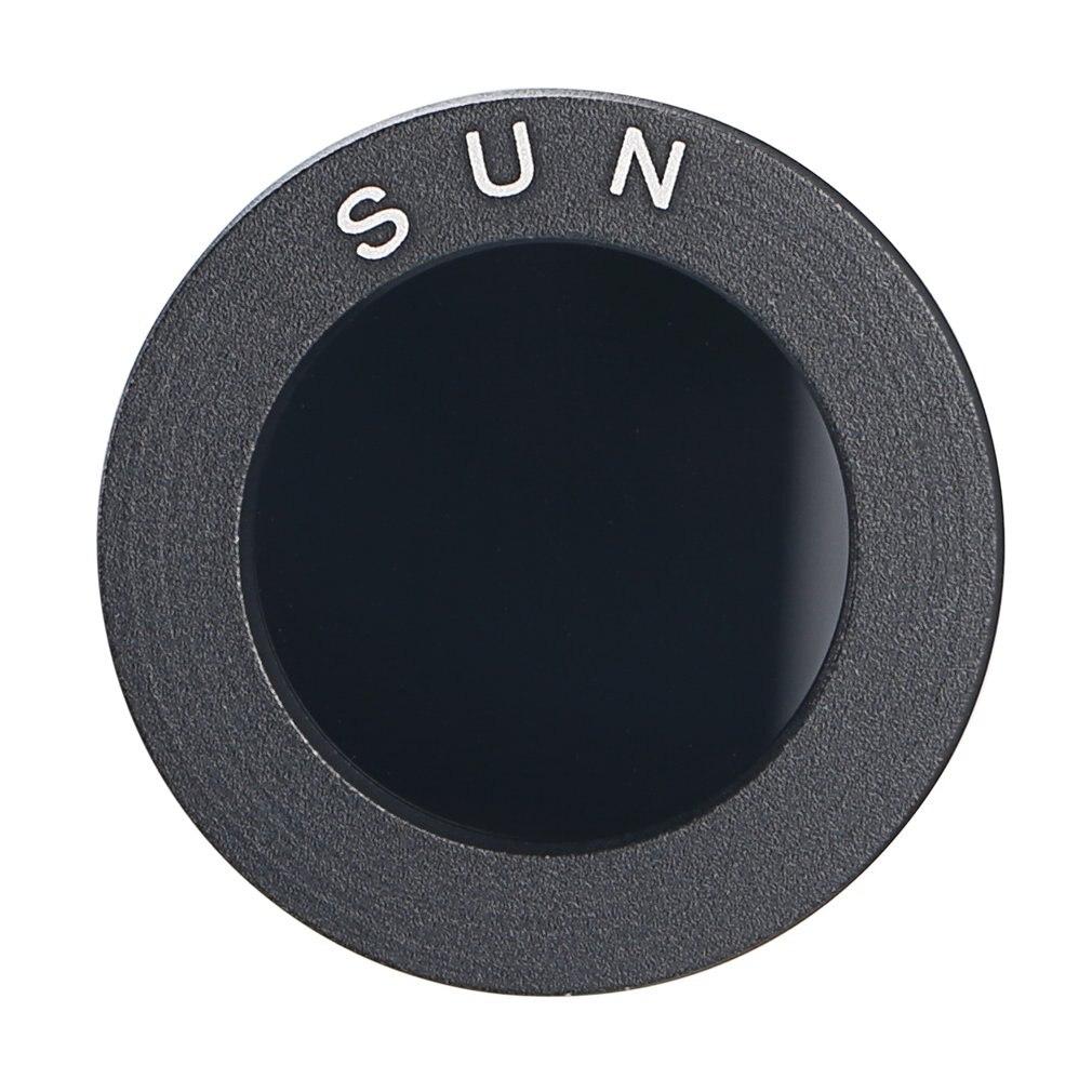 Аксессуары для астрономического телескопа 0,965/1,25 черные солнцезащитные фильтры полностью алюминиевая стандартная нить для АСТРО оптики ок...