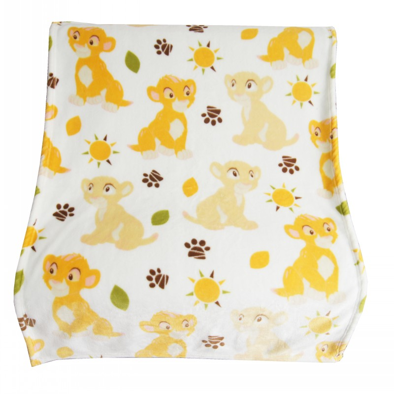 Disney Super Soft Simba Lion King Nala Blanket Throw For Baby Girls Boys Mickey Mouse Pet Dog Cat Animal Sleeping Throw
