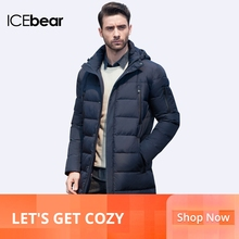 ICEbear 2019 New Clothing Jackets Business Long Thick Winter