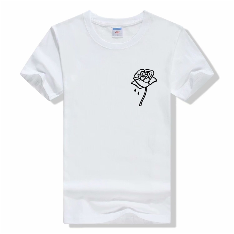 New Fashion Multiple Colour Summer People Are Poison Rose T Shirt Streetwear Men Women Funny T Shirts Camiseta