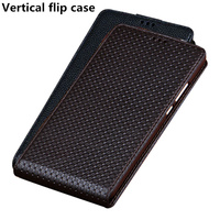 Business Genuine Leather Vertical Flip Phone Case For Lenovo S5 Pro Vertical Case For Lenovo K5 Pro Vertical Flip Case Coque