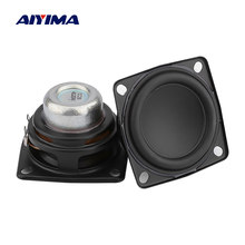 Aiyima 2Pcs 2 Inch Full Range Audio Speaker Unit 53 Mm 4 Ohm 20W Hi Fi Stereo Loudspeaker DIY bluetooth Home Amplifier Speaker(China)