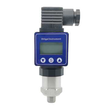 Pressure Transmitter With LCD Display G1/4 12-36V 0-10V 0.5% 0-600bar Optional Stainless Steel Pressure  Transducer Sensor