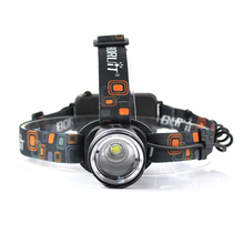 BORUiT RJ-2190 XML T6 LED Headlamp 3-Mode Zoom Headlight High Power 3000LM Head Torch 18650 Rechargeable Hunting Flashlight 6000lm 3x xml t6 led 2x18650 stirnlampe kopf lampe licht usb eu ladegerat boruit