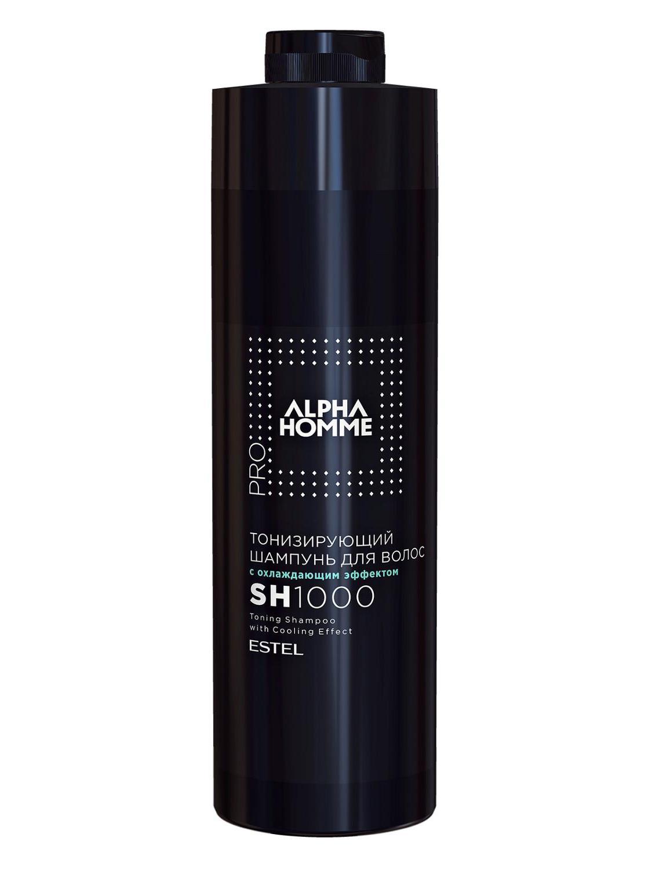Тонизирующий шампунь для волос с охлаждающим эффектом ESTEL ALPHA HOMME PRO, 1000 мл