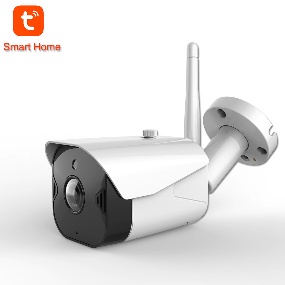 IP Camera Tuya Smart Life WiFi Camera Outdoor Waterproof 1080P  Wireless Night Vision Two Way Audio Home Security CCTV Camera
