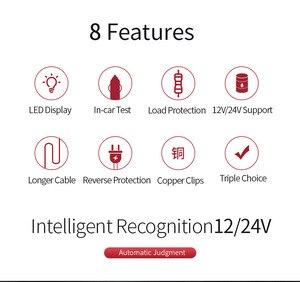 Image 2 - 12V 24V Car Battery Tester with 7 LED Lights Display Car Battery Loading Detector Analyzer Alternator
