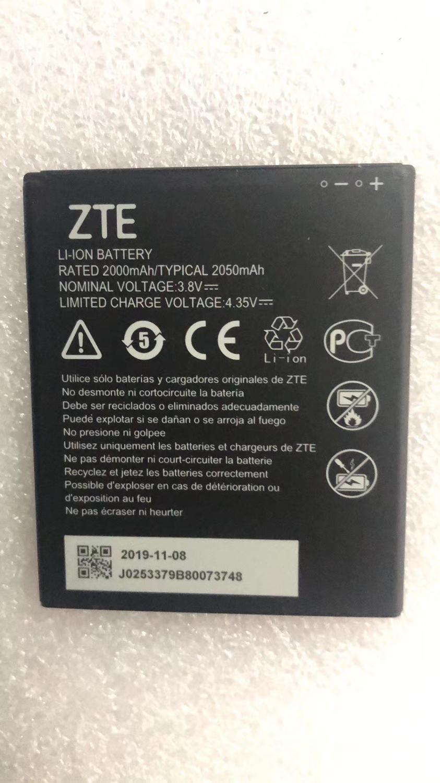 2019 100% Original ZTE Li3820t43P4h695945 2050mah Battery