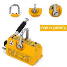 Lifting Magnets 300KG Steel Permanent Magnetic Lifter Heavy Duty Crane Hoist Lifting Magnet Lifting Tools