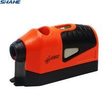 SHAHE Laser Level Tool Mini Vertical Spirit Level Gauge-Tool Guided Spirit Level Multifunctional Infrared Liner Laser Lever